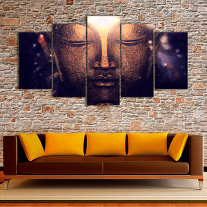 "5 Pieces Decorative 3D Painting ""Buddha's Third Eye"""