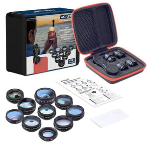 Deluxe 10 In 1 Mobile Camera Lens Set