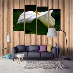 "4 Pieces Decorative 3D Painting ""Calla Lily"""
