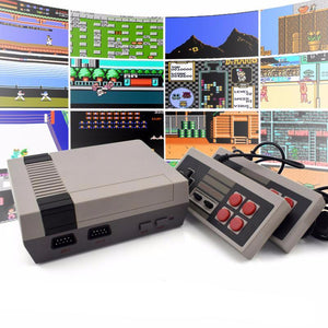 Classic 8-Bit Game Box Replica with 600 Built-in Games