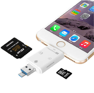Hybrid USB Card Reader