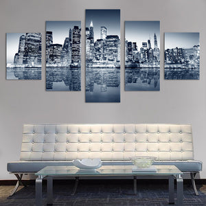 "5 Pieces Decorative 3D Painting ""Brooklyn"""