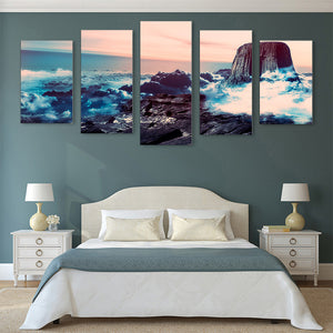 "5 Pieces Decorative 3D Painting ""Above the Clouds"""