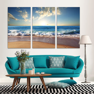 "3 Pieces Decorative 3D Painting ""Morning Tide"""