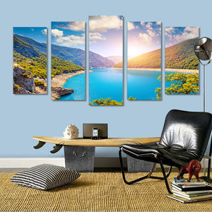 "5 Pieces Decorative 3D Painting ""The Hidden Paradise"""
