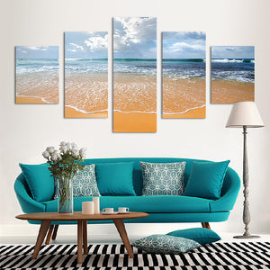 "5 Pieces Decorative 3D Painting ""Shy Waves"""