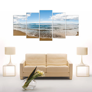"5 Pieces Decorative 3D Painting ""Morning waves"""