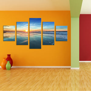 "5 Pieces Decorative 3D Painting ""Paradise Perspective"""
