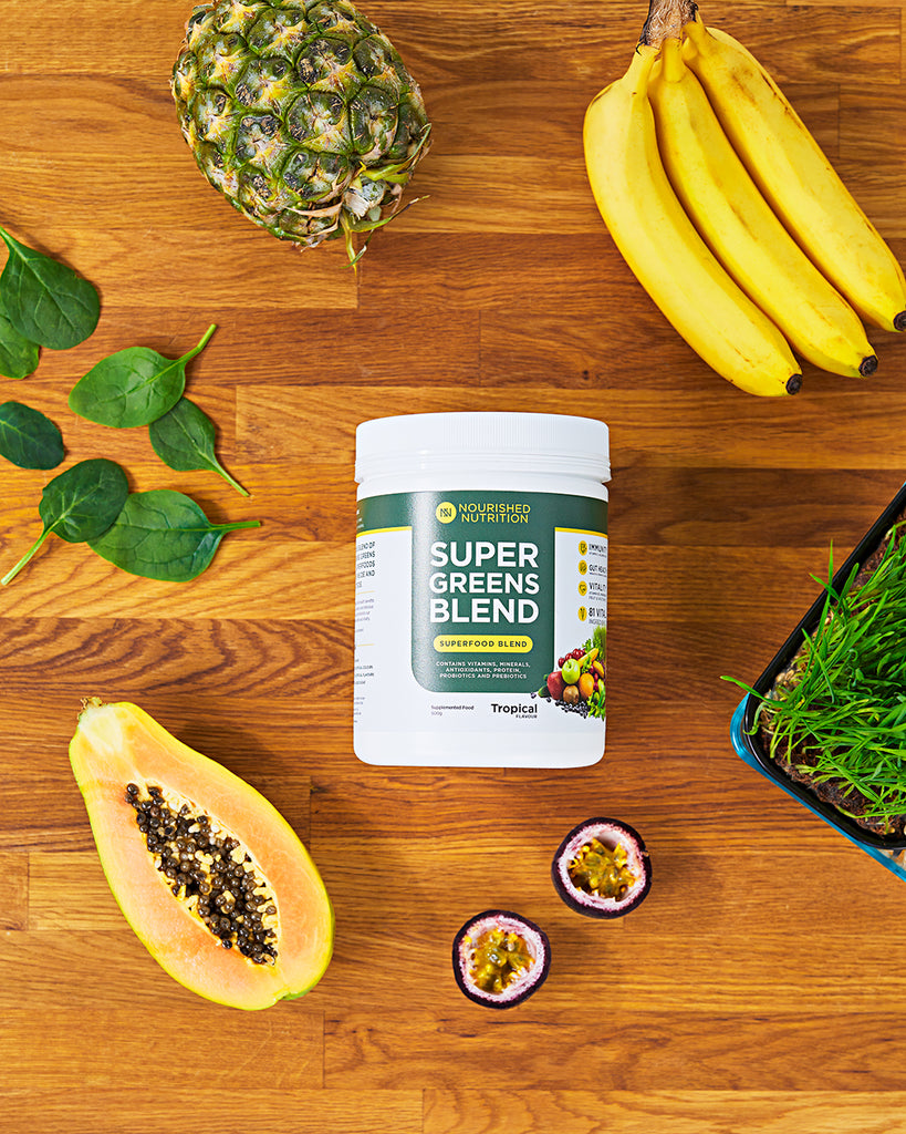 Fight the flu with Nourished Nutrition Superfood Powders