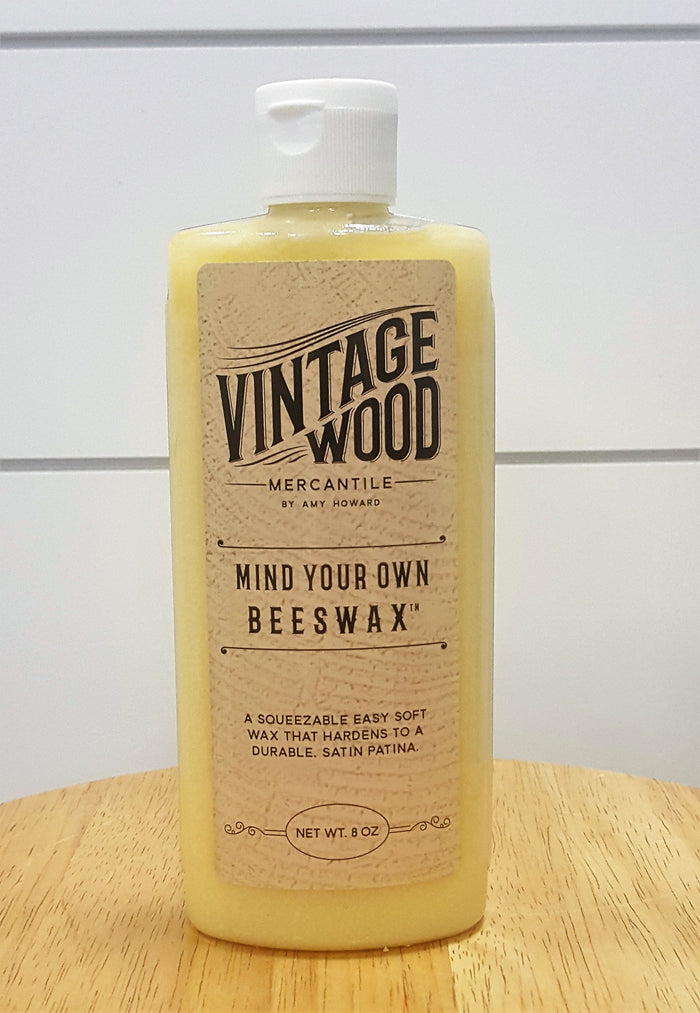 Vintage Wood- MInd your own Beeswax-Refurbishing