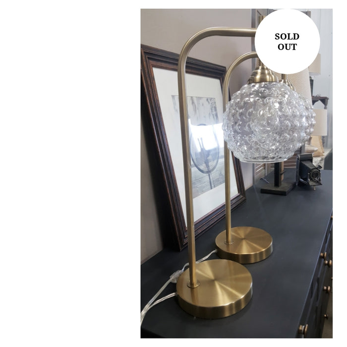 Glass ball table lamps accessory -each
