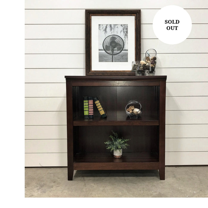 Espresso Bookcase or side table