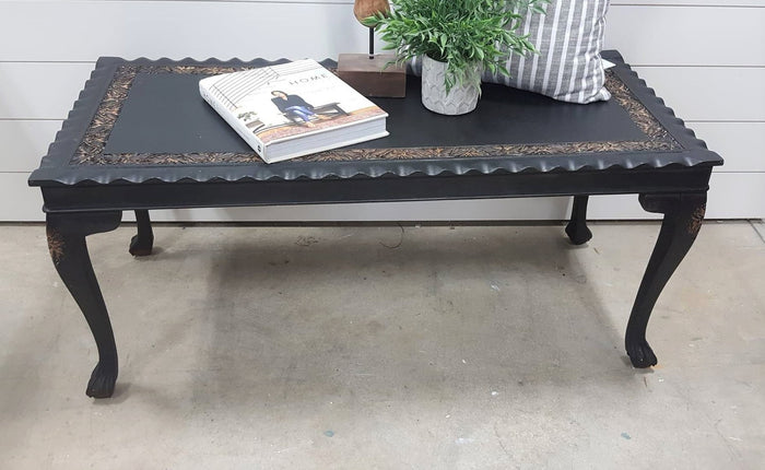 SALE Unique Black coffee table