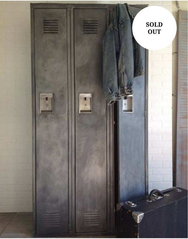SALE- Distressed Metal Lockers