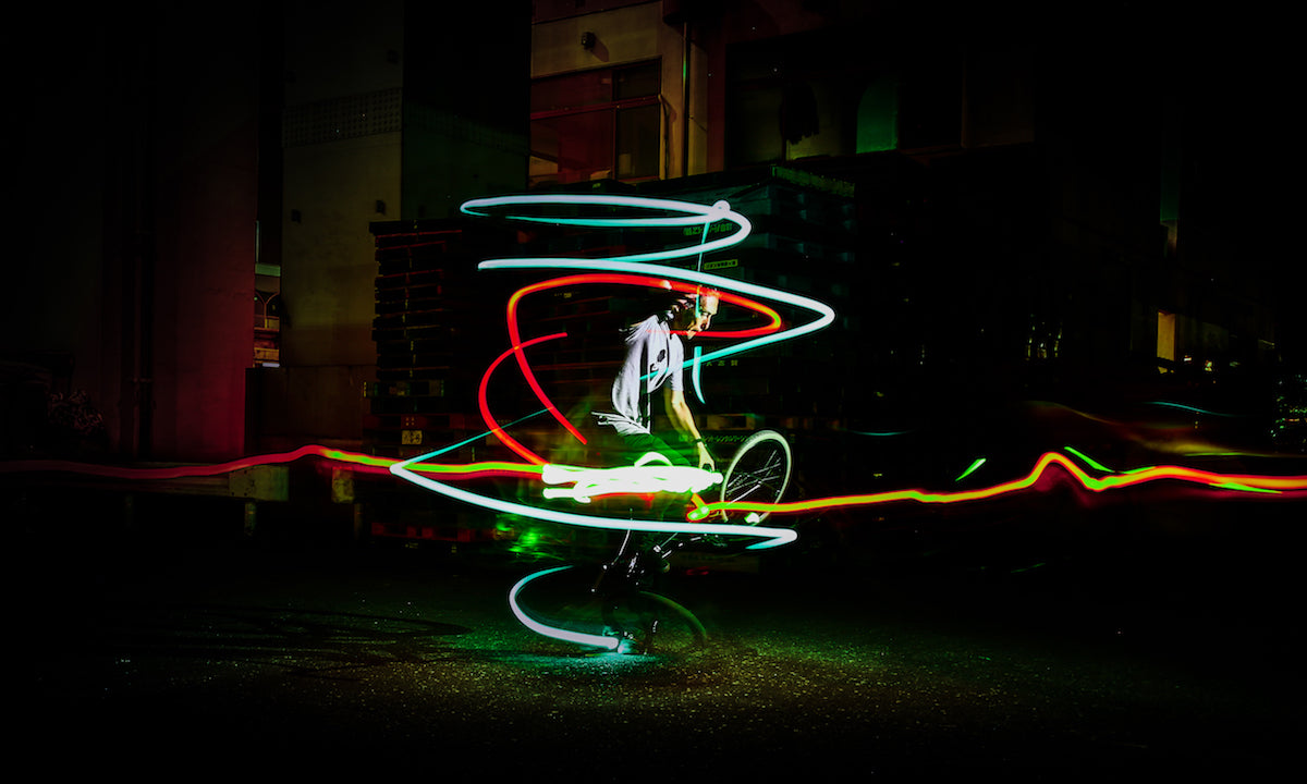 light painting with the litratorch
