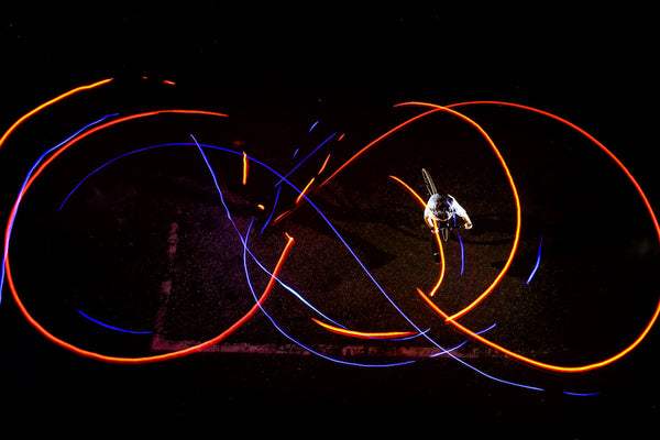 light painting with litratorch