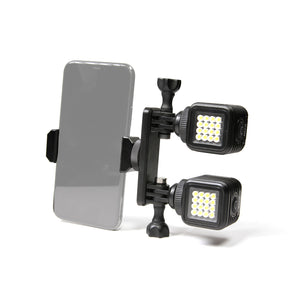 LitraTorch 2.0 Phone Mount Double Lighting System Bundle