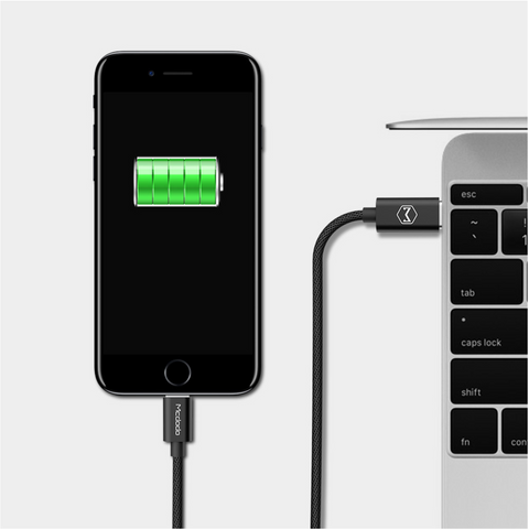 Mcdodo USB-C to Lightning PD Fast-Charging Cable - McdodoTech.com