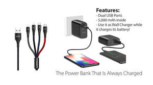 Mcdodo | Mcdodo 4-in-1 Cable - McdodoTech.com | Multi-Device Charger