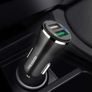 Mcdodo | Mcdodo Fasting Charging Dual USB Car Adapter - McdodoTech.com |