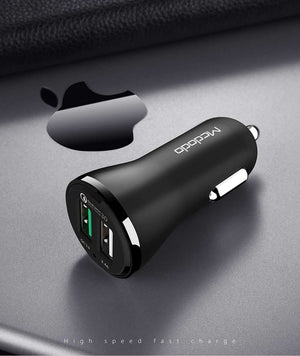 Mcdodo Fasting Charging Dual USB Car Adapter