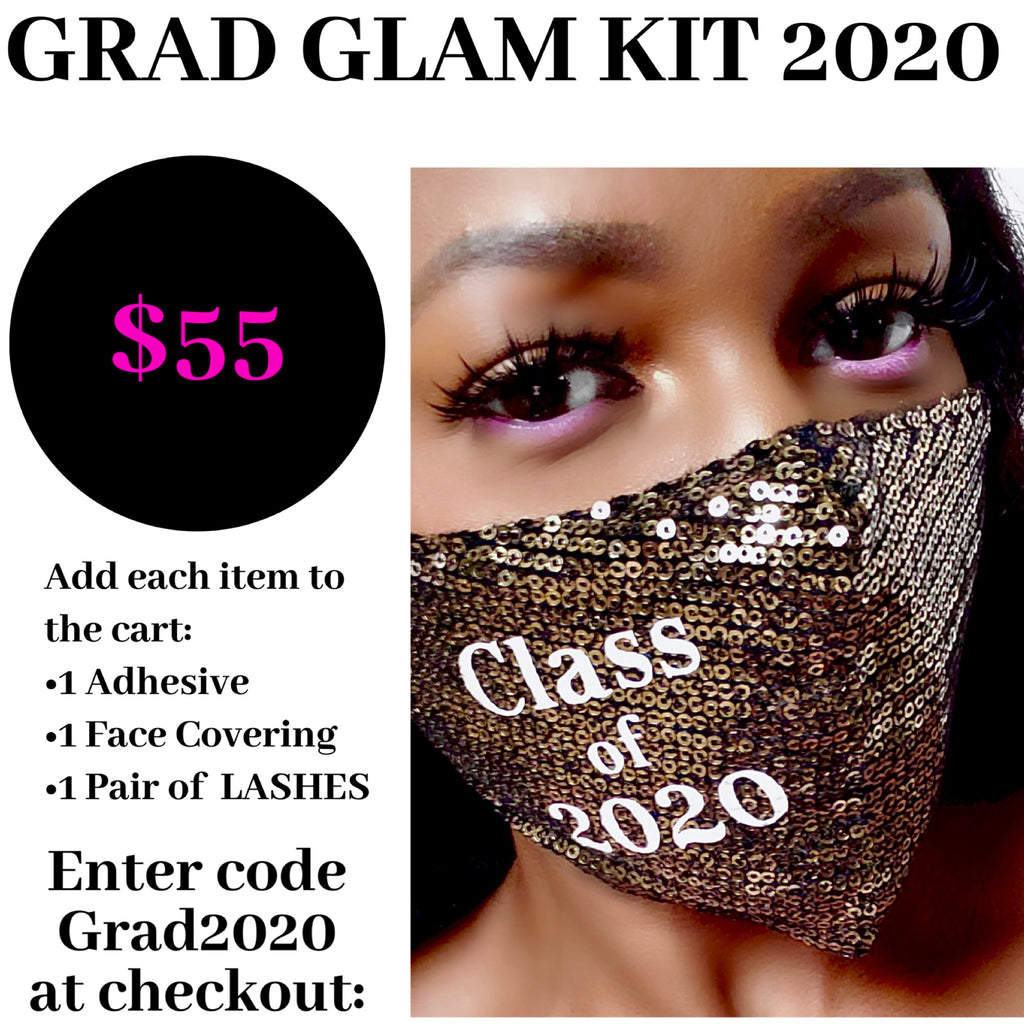 GRAD GLAM 2020 Face Covering