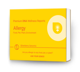 Silverberry Card - DNA-Based Allergy Reports