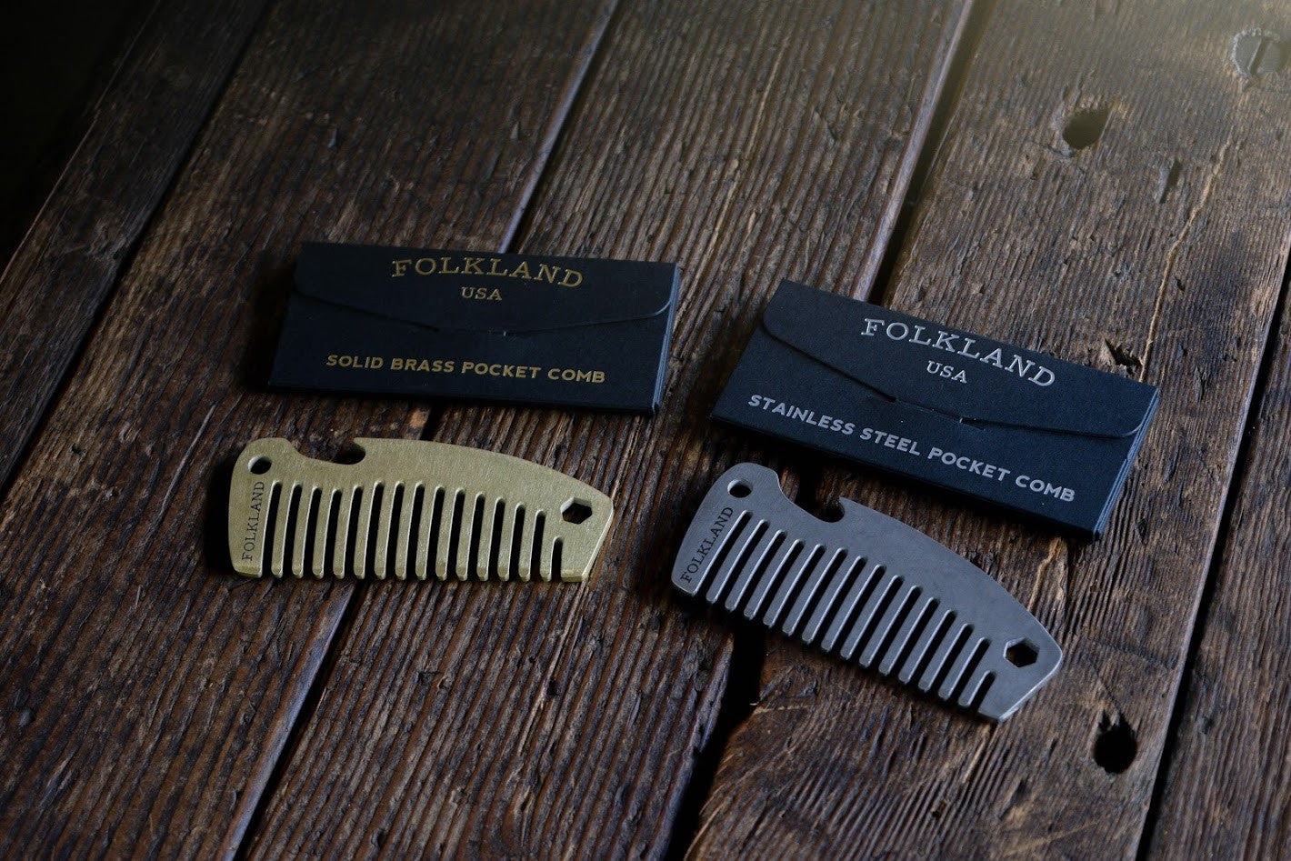 Folkland Pocket Comb Launch