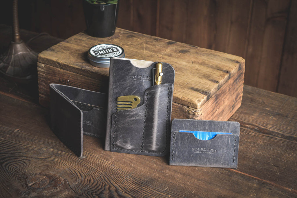 Folkland Leather Goods built in the PNW with quality materials built to last