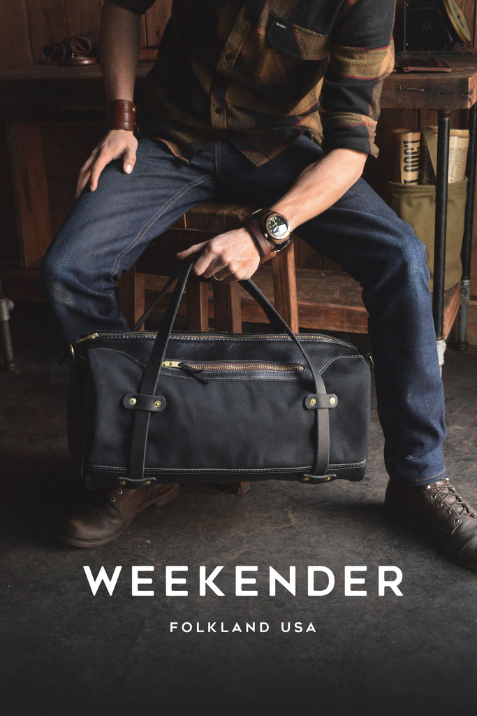 Folkland Weekender Duffle Bag for Travel and Adventure
