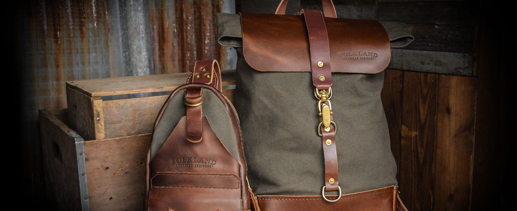 Folkland Durable Packs American Made