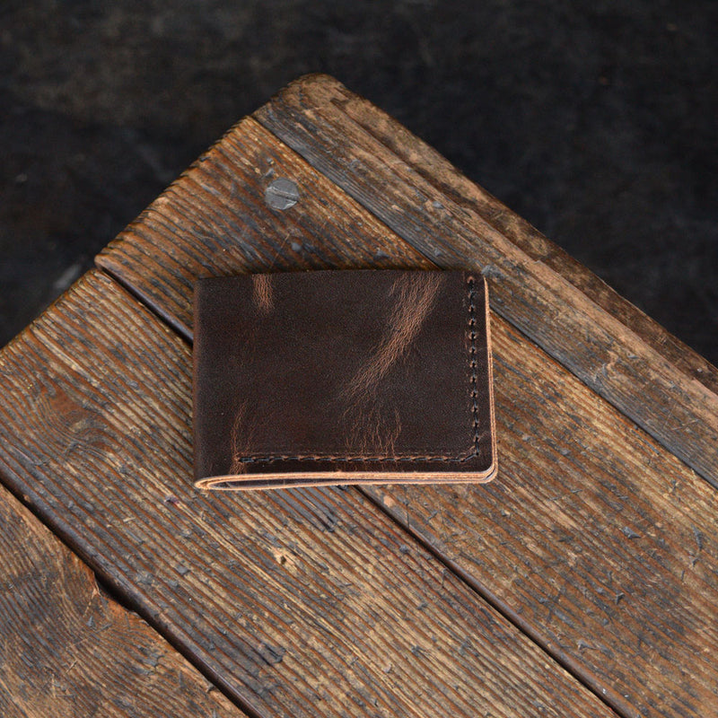 No. 8 Bifold Wallet Brown