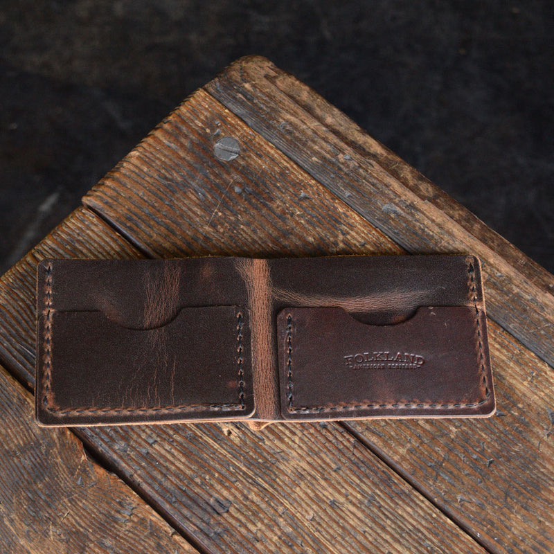 No. 08 Bifold Wallet Brown