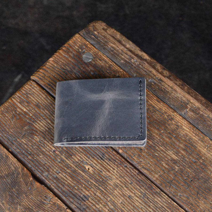 No. 08 Bifold Wallet Gray