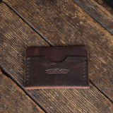 No. 02 Card & Cash Wallet Brown