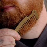 Pocket Comb Solid Brass