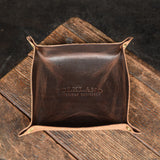 No. 06 Leather Valet Tray Brown