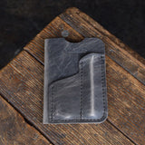 Folkland Leather Notebook Sleeve Everyday Carry Pen Journal Pocket Gear