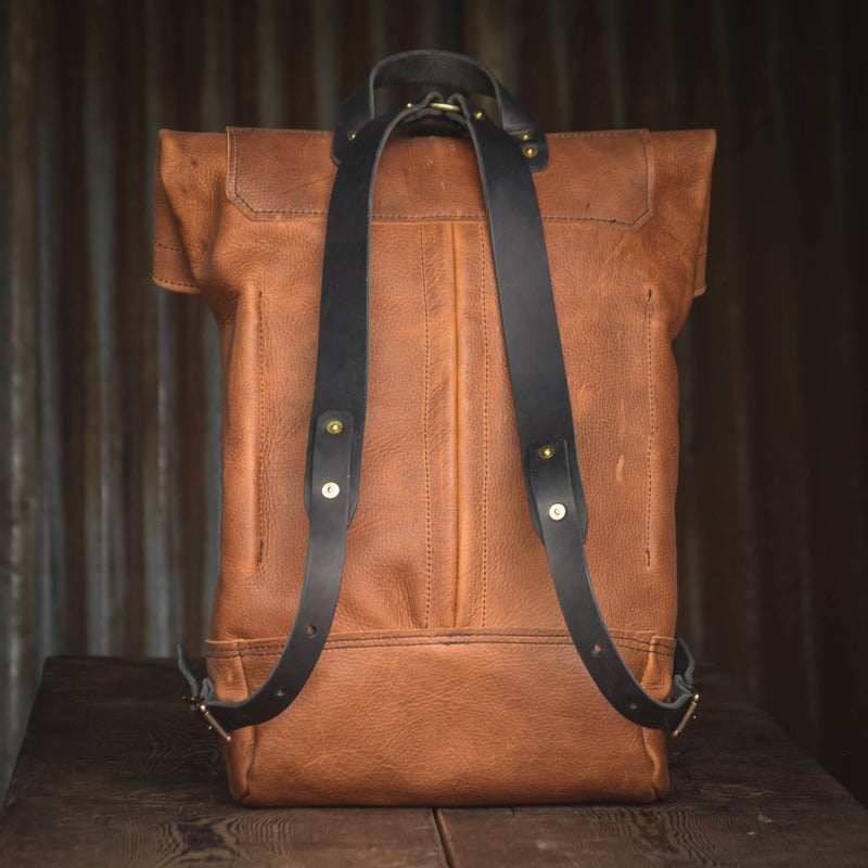 Pre-Order Folkland Rolltop Light Brown Leather