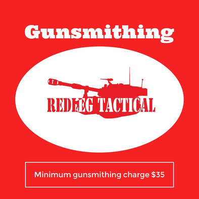 Sight Install - Gunsmith - Redleg Tactical