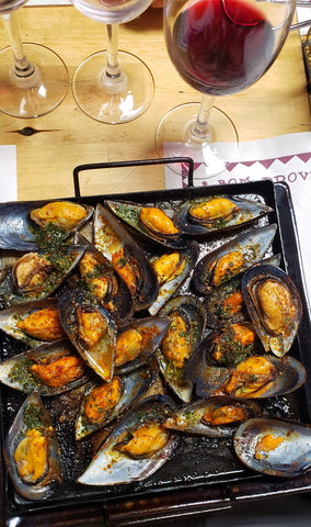 mussels in cornudella spain