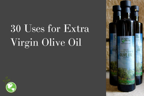 30 uses for extra virgin olive oil (life hacks)