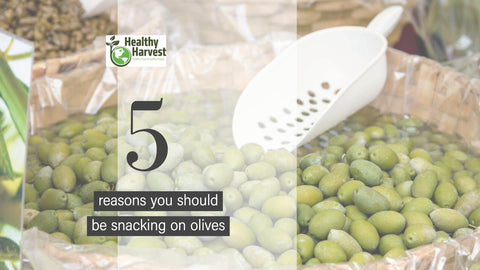 5 reasons you should snack on olives