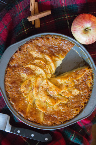 thanksgiving recipes olive oil cake with apples and honey