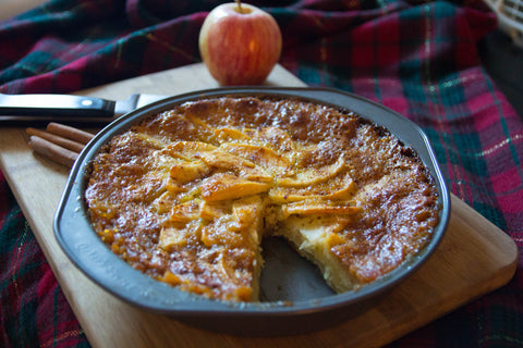 healthy harvest greek olive oil honey apple cake