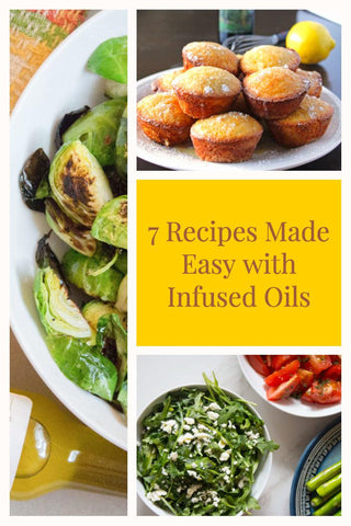 infused olive oil recipes (gluten free, vegan, vegetarian)