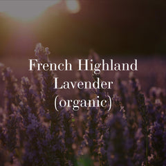french lavender organic herbal skincare