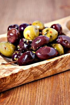 marinated olives and nuts recipe
