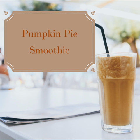 healthy pumpkin pie smoothie recipe