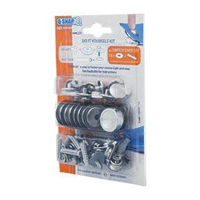-Snap DIY Pack, press-fastener, snaps, DIY, industrial, commercial, snap, hardware, textile, outdoor upholstery, automotive, marine, seawater resistant, Canada, Canadian, Toronto,